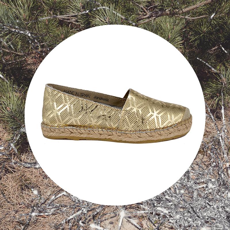 Espadrilles-ILC-schoenen-gouden-schoenen